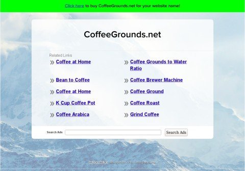 coffeegrounds.net thumbnail